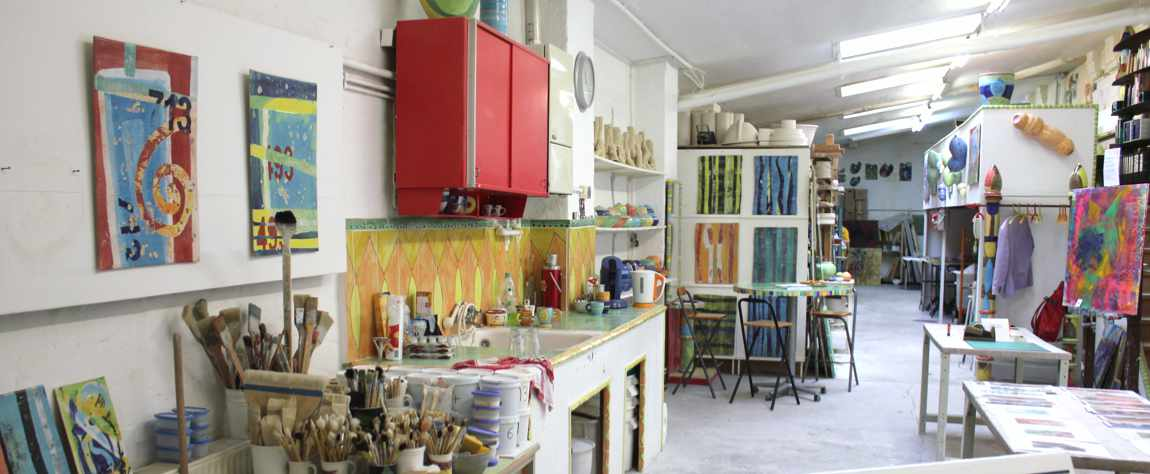 Ausstellung in der Werkstatt von Guido Kratz aus Hannover