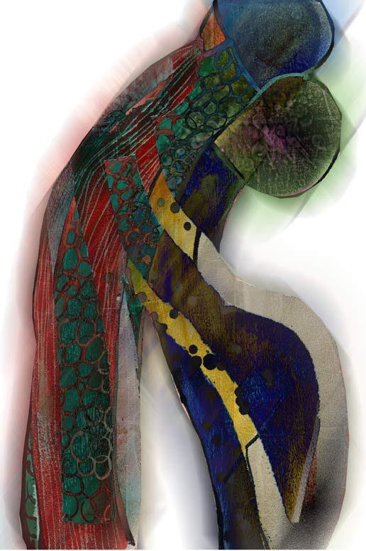 """""""Closed Tango 2"""", digitale Grafik und Fine Art Print von Guido Kratz aus Hannover"""