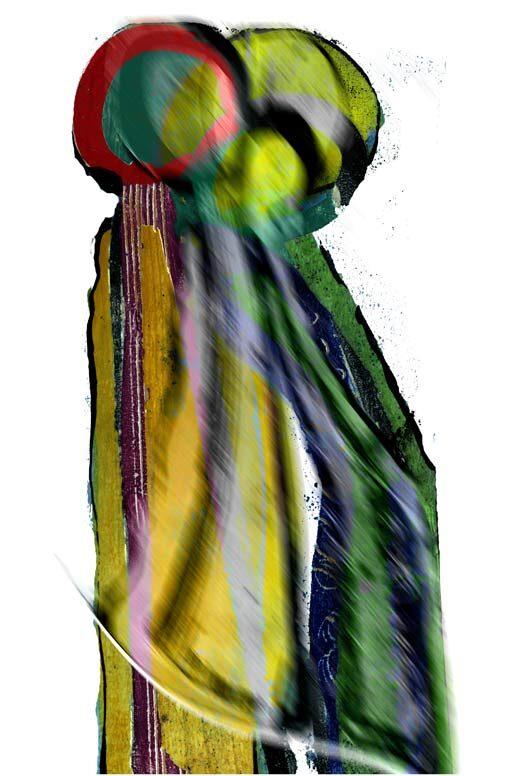 """""""ClosedTango 3"""", digitale Grafik und Fine Art print von Guido Kratz aus Hannover"""