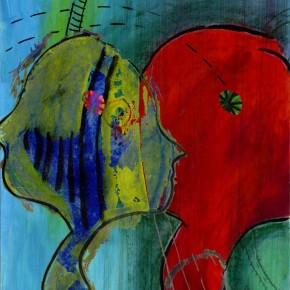 """""""Durchdringung 05"""", Bild aus einem Kunstprojekt von Guido Kratz und Anja Weiss aus Hannover"""