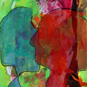 """""""Durchdringung 06"""", Bild aus einem Kunstprojekt von Guido Kratz und Anja Weiss aus Hannover"""