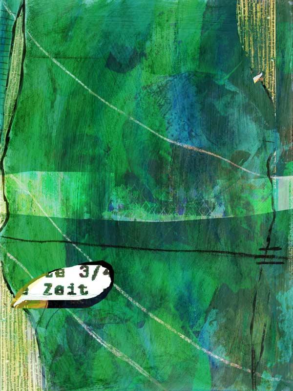 """""""Durchdringung 07"""", Bild aus einem Kunstprojekt von Guido Kratz und Anja Weiss aus Hannover"""