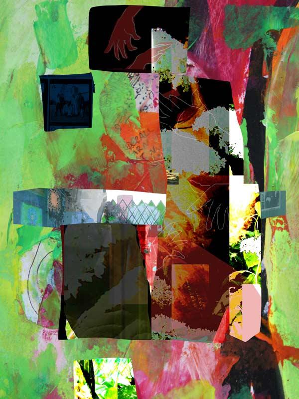 """""""Durchdringung 08"""", Bild aus einem Kunstprojekt von Guido Kratz und Anja Weiss aus Hannover"""