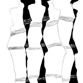"""""""Durchdringung 09"""", Bild aus einem Kunstprojekt von Guido Kratz und Anja Weiss aus Hannover"""