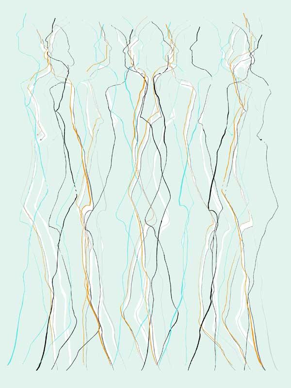 """""""Durchdringung 10"""", Bild aus einem Kunstprojekt von Guido Kratz und Anja Weiss aus Hannover"""