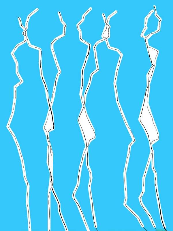 """""""Durchdringung 11"""", Bild aus einem Kunstprojekt von Guido Kratz und Anja Weiss aus Hannover"""