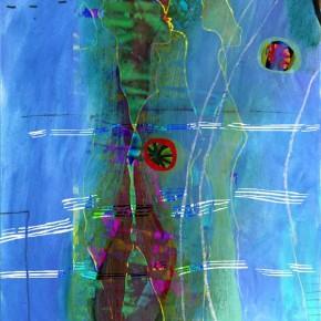 """""""Durchdringung 13"""", Bild aus einem Kunstprojekt von Guido Kratz und Anja Weiss aus Hannover"""