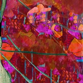 """""""Durchdringung 14"""", Bild aus einem Kunstprojekt von Guido Kratz und Anja Weiss aus Hannover"""