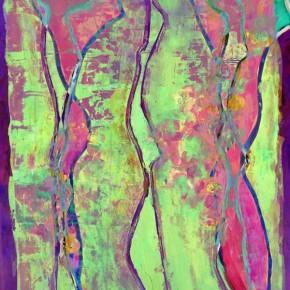 """""""Durchdringung 15"""", Bild aus einem Kunstprojekt von Guido Kratz und Anja Weiss aus Hannover"""