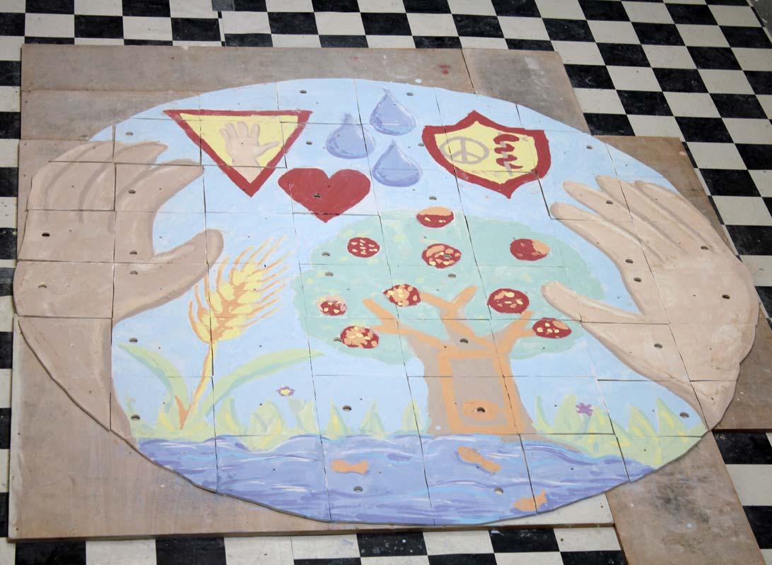 Keramik mit Kindern - Kinderrechteprojekt in der Wedemark