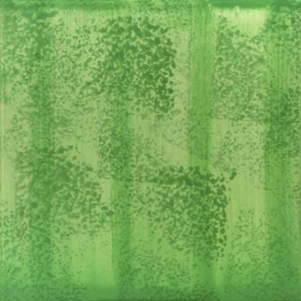 Keramik Fliese Schwammdekor grün dunkelgrün von Guido Kratz aus Hannover