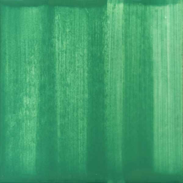 Keramik Fliese gestrichen blaugrün von Guido Kratz aus Hannover