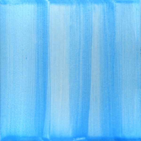 Keramik Fliese gestrichen hellblau von Guido Kratz aus Hannover