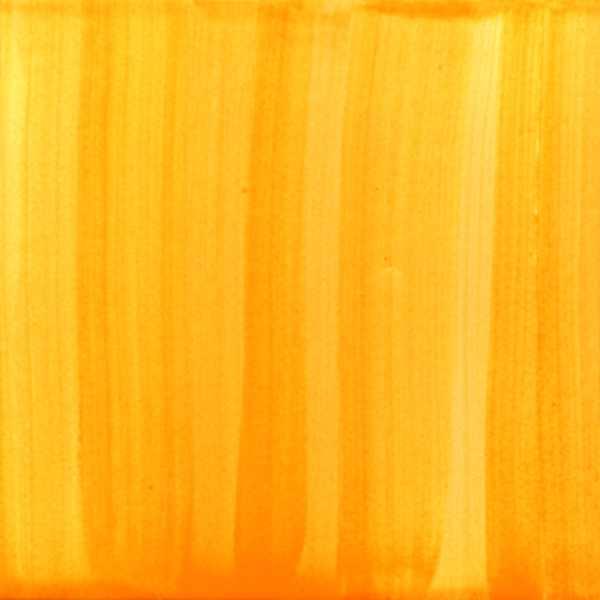 Keramik Fliese gestrichen orange von Guido Kratz aus Hannover