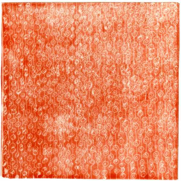 Handgemachte Fliese sgrafitto rosa von Guido Kratz aus Hannover