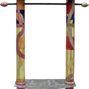 Garderobe aus Keramik von Guido Kratz