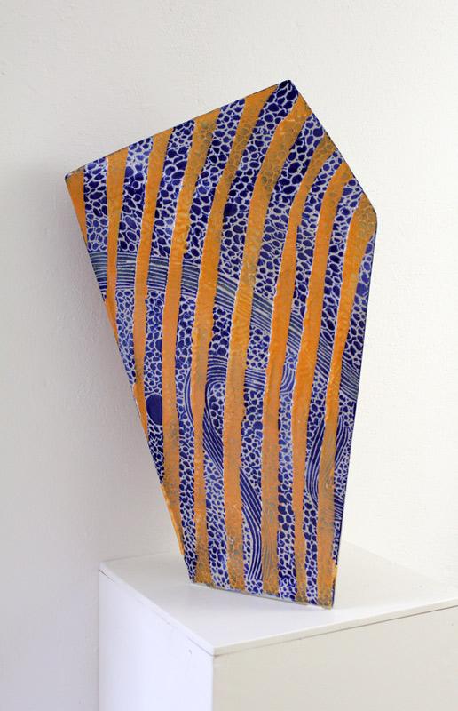 Gefäß 3, eine keramische Skulptur von Guido Kratz aus Hannover