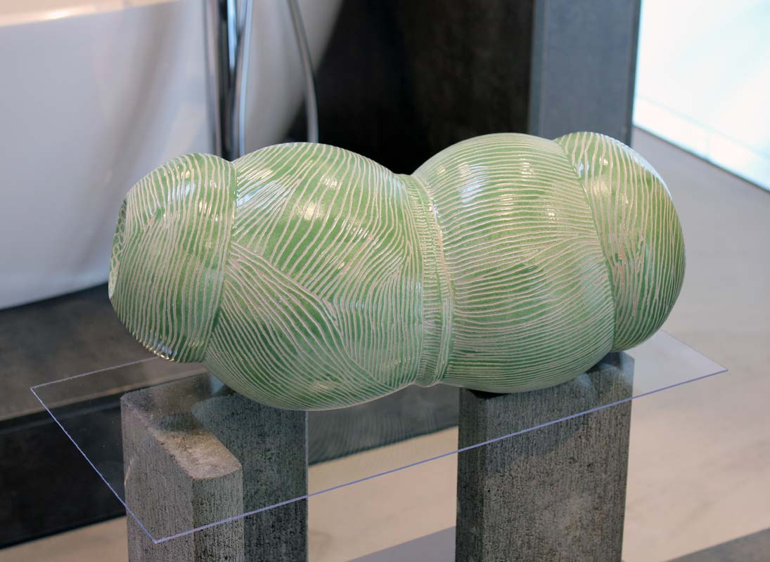 Gefäße von Guido Kratz in der Wiedemann Bad Ausstellung in Hannover 05