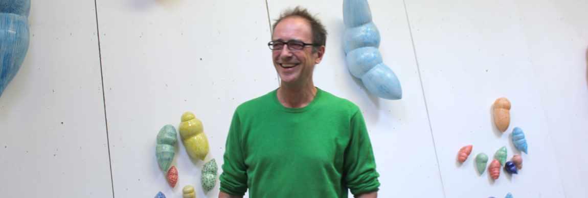 Guido Kratz in der Werkstatt