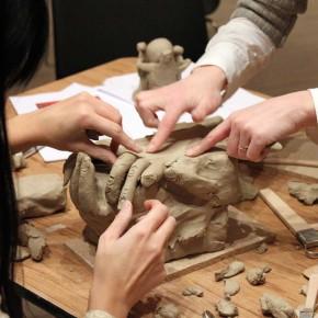 Kreativer Skulpturenworkshop mit der IG BCE von Guido Kratz aus Hannover Bild 01