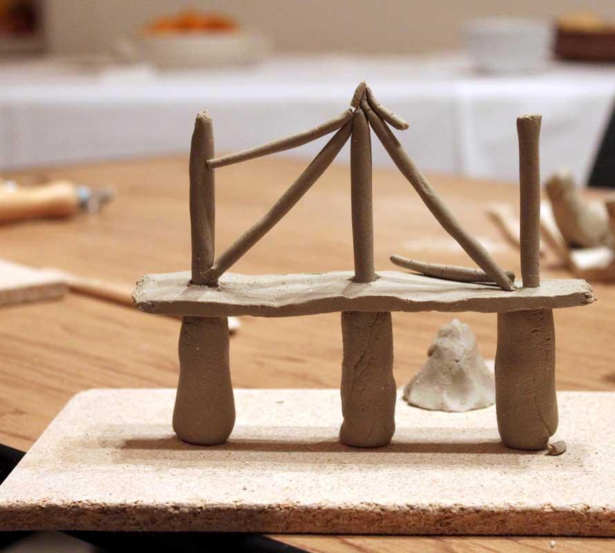 Kreativer Skulpturenworkshop mit der IG BCE von Guido Kratz aus Hannover Bild 11