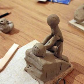 Kreativer Skulpturenworkshop mit der IG BCE von Guido Kratz aus Hannover Bild 02