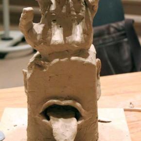 Kreativer Skulpturenworkshop mit der IG BCE von Guido Kratz aus Hannover Bild 05