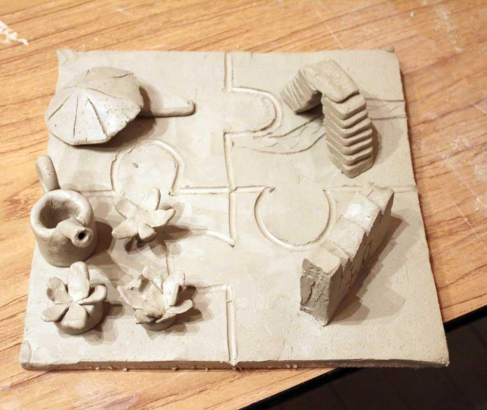 Kreativer Skulpturenworkshop mit der IG BCE von Guido Kratz aus Hannover Bild 08