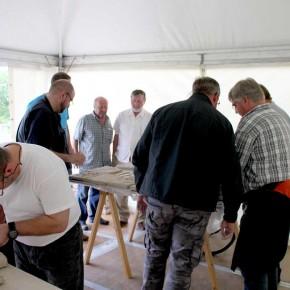 Ein Skulpturen-Workshop in Wilhelm gefeller Bildungszentrum mit IGBCE von Guido Kratz aus Hannover Bild 4