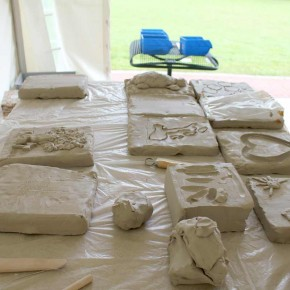 Ein Skulpturen-Workshop in Wilhelm gefeller Bildungszentrum mit IGBCE von Guido Kratz aus Hannover Bild 5