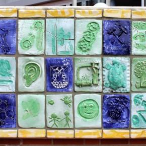 Relief im Außenbereich des Wilhelm Gefeller Bildungszentrum IGBCE von Guido Kratz aus Hannover Bild 3
