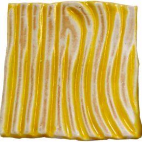 Keramik Pflasterstein rutschfest 10 x 10 gelb streifen von Guido Kratz aus Hannover