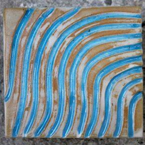 Keramik Pflasterstein rutschfest 10 x 10 türkis von Guido Kratz aus Hannover