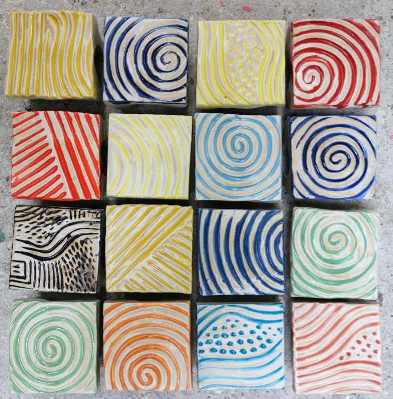 Keramik Pflastersteine rutschfest 8 x 8 gemischt von Guido Kratz aus Hannover