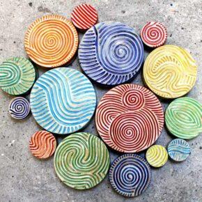 Keramik Pflastersteine rund rutschfest 1 von Guido Kratz aus Hannover