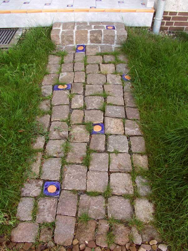 Pflastersteine eingangsbereich  Keramik-Pflastersteine | Guido Kratz