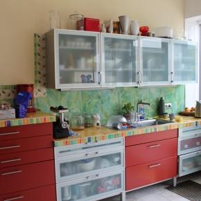 Küche mit Arbeitsflächen aus Keramik von Guido Kratz