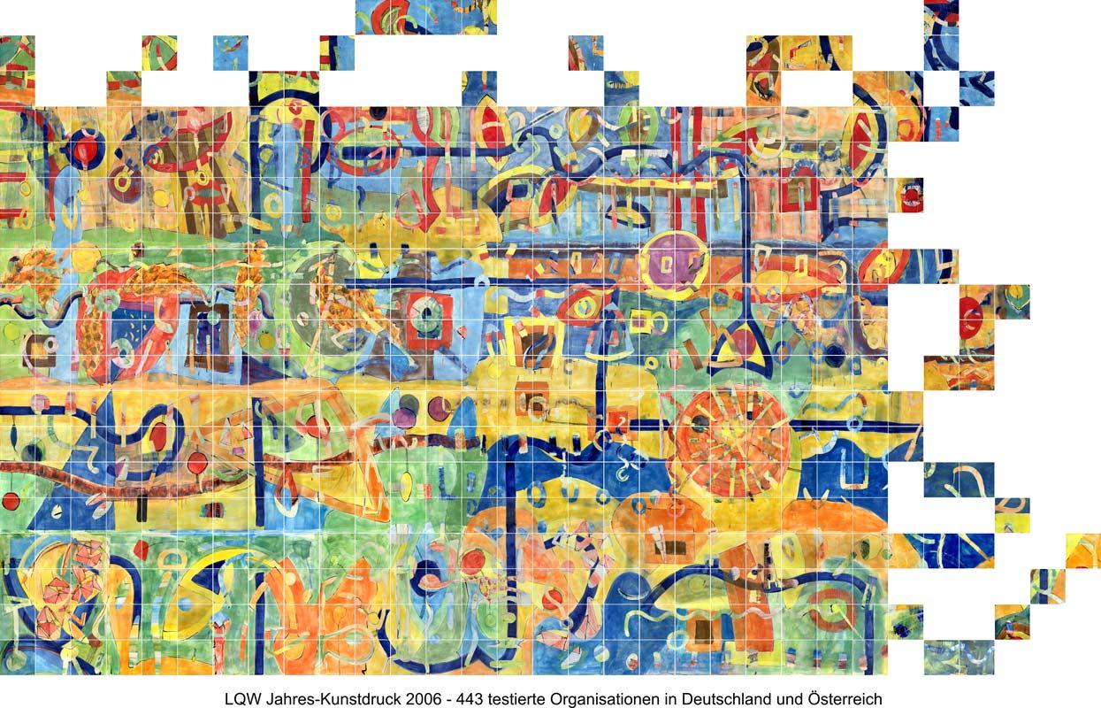 LQW Jahreskunstdruck 2006 von Guido Kratz-Keramik aus Hannover