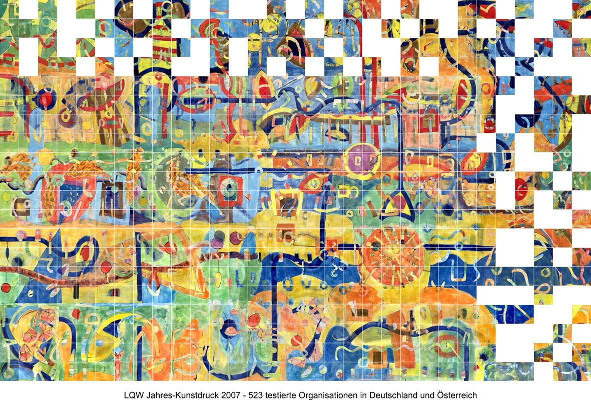 LQW Jahreskunstdruck 2007 von Guido Kratz-Keramik aus Hannover