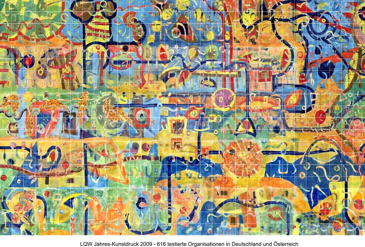 LQW Jahreskunstdruck 2009 von Guido Kratz-Keramik aus Hannover
