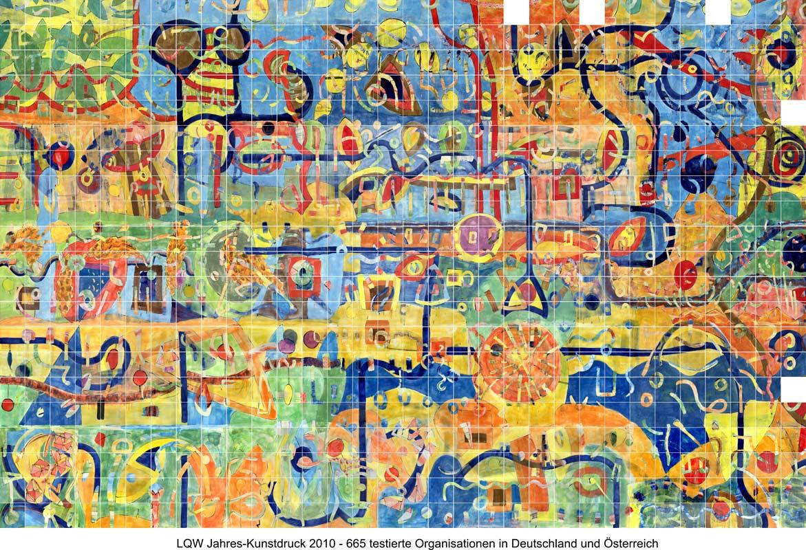 LQW Jahreskunstdruck 2010 von Guido Kratz-Keramik aus Hannover