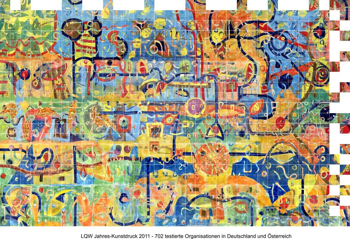 LQW Jahreskunstdruck 2011 von Guido Kratz-Keramik aus Hannover