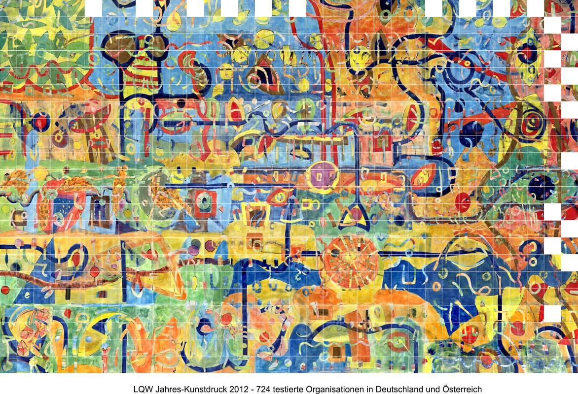 LQW Jahreskunstdruck 2012 von Guido Kratz-Keramik aus Hannover