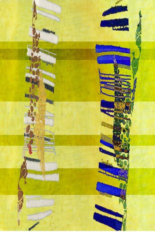"""""""Maracuja"""", digitale Grafik und Fine Art Print von Guido Kratz aus Hannover"""