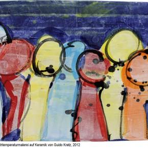 """""""Milonga 12-1"""" Hochtemperaturmalerei von Guido Kratz aus Hannover"""