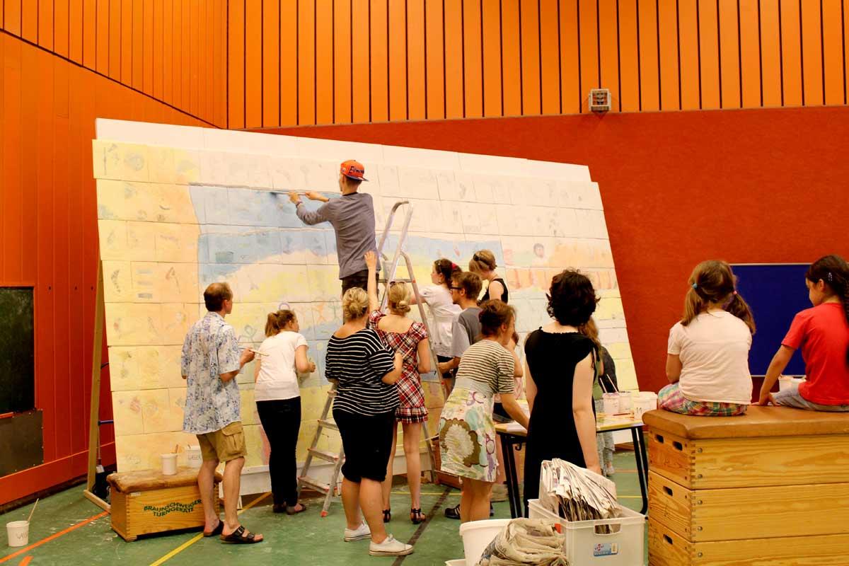 Netzwerkbild-Workshop von Guido Kratz aus Hannover mit der IGS-Roderbruch Bild 13
