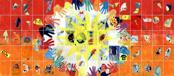 Netzwerkbild F aus einem Netzwerkbild-Workshop von Guido Kratz aus Hannover mit dem Unternehmen EWE