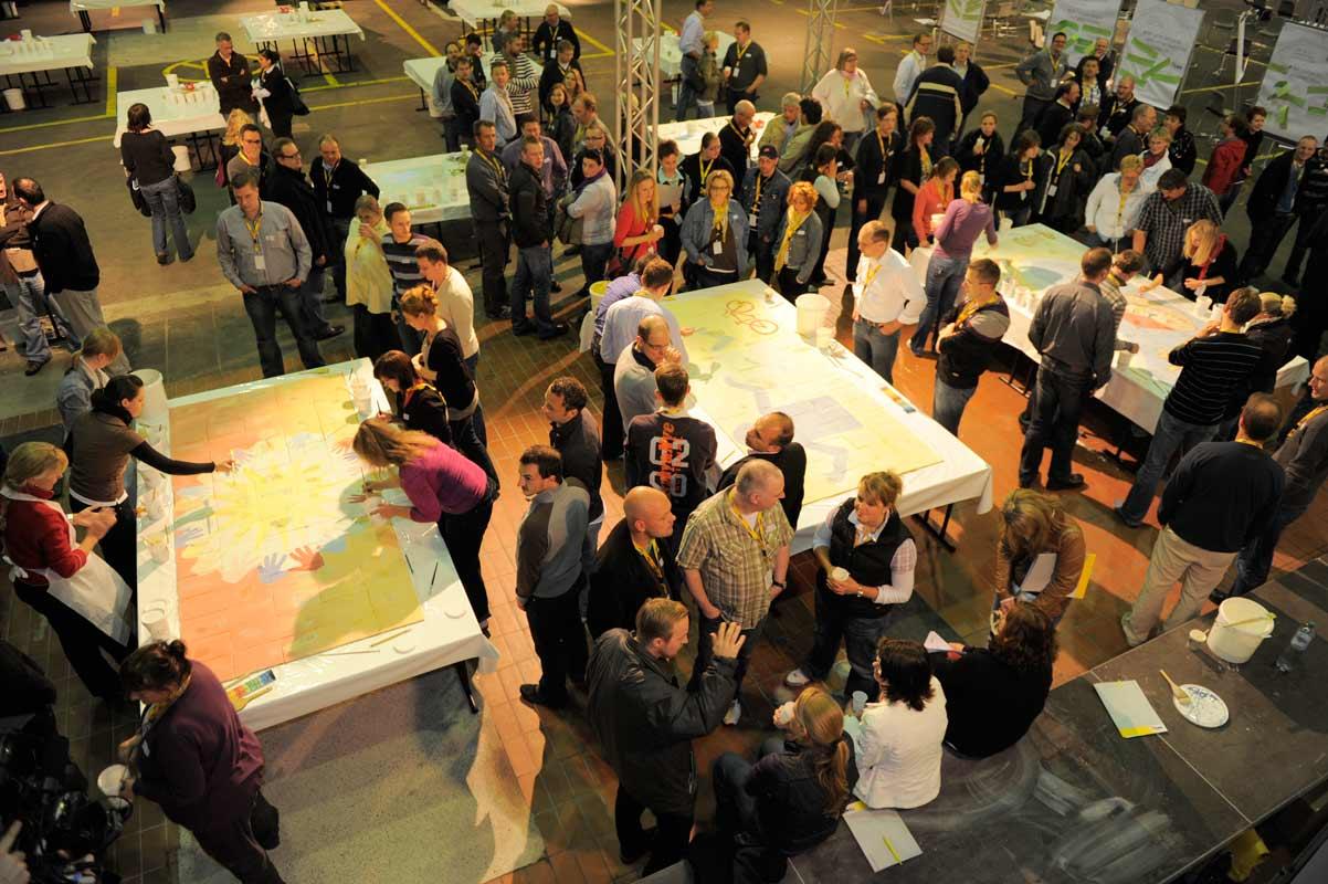 Netzwerkbild-Workshop, Teambildung, von Guido Kratz aus Hannover mit dem Unternehmen EWE Bild 03