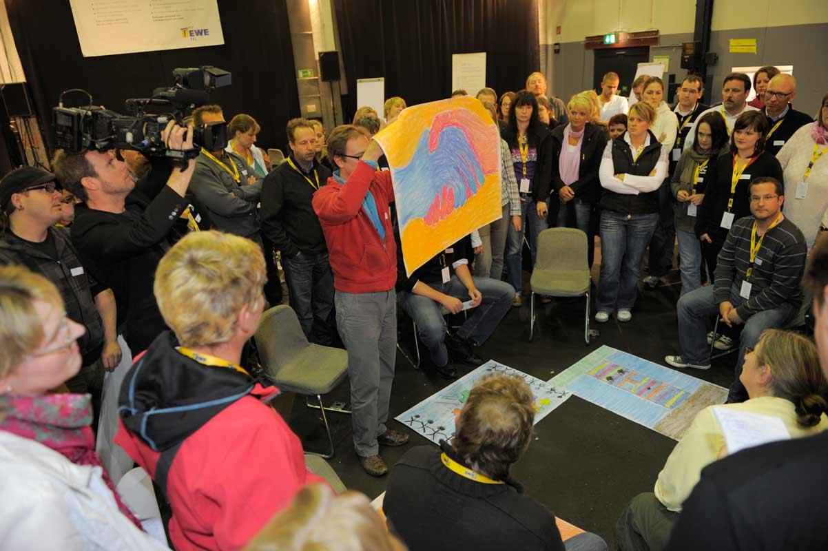 Netzwerkbild-Workshop, Teambildung, von Guido Kratz aus Hannover mit dem Unternehmen EWE Bild 05