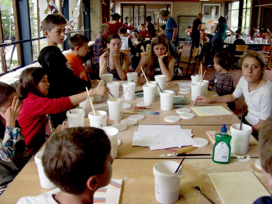 Netzwerkbild-Workshop mit der Glockseeschule in Hannover von Guido Kratz Bild 02